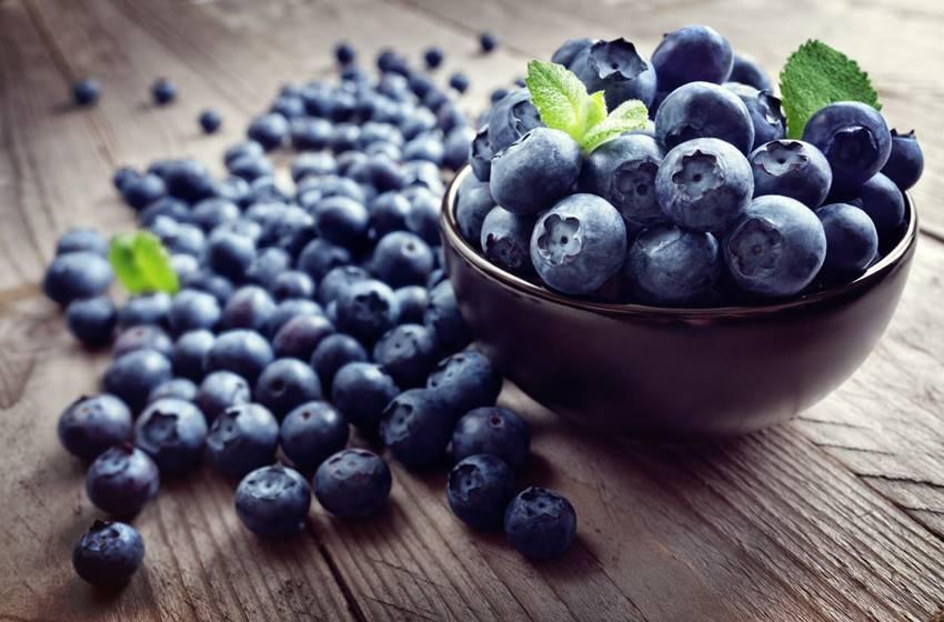 10 Alimentos para combater o estresse - Mirtilos