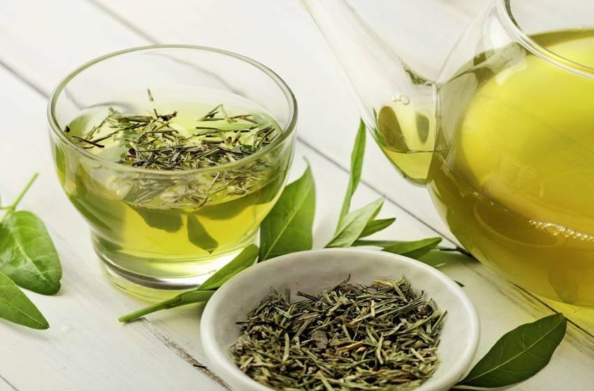 Alimentos para combater o estresse - Chá Verde