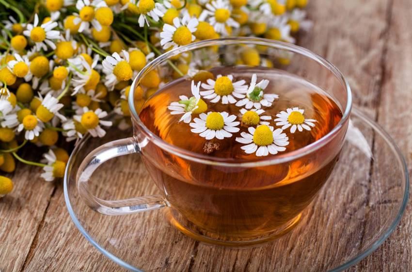 Alimentos que combatem o estresse - Chá de Camomila